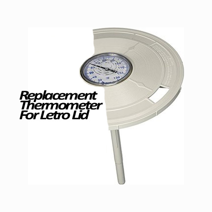 THERMOMETER LETRO W/TUBE & BUS - Thermometers