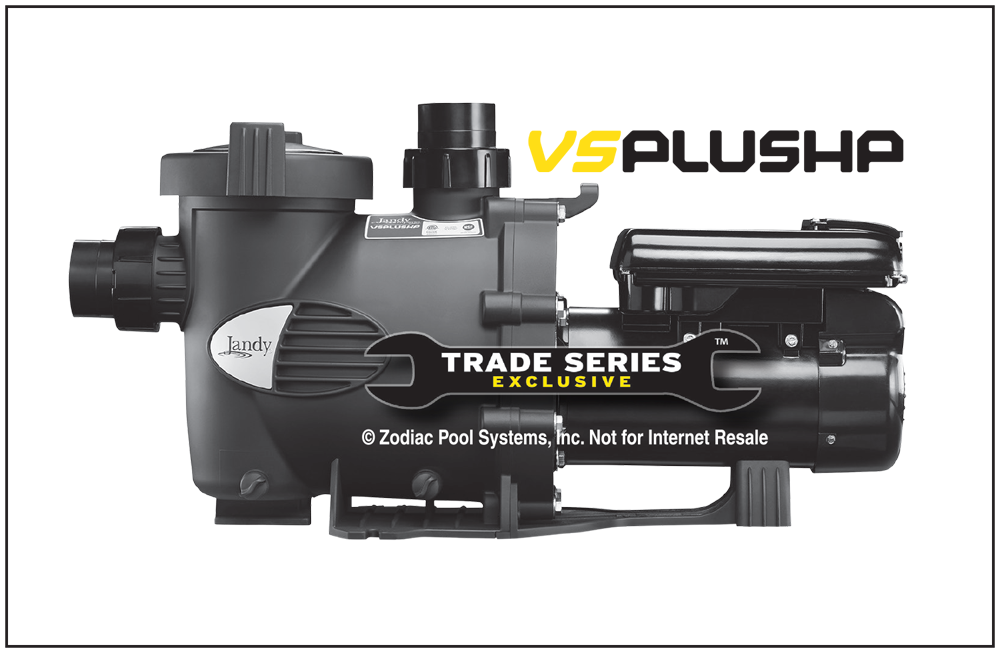 PUMP  VS PLUSPH VR SPD W/O CON 230V W/O CONTROLLER - Variable Speed Pool Pumps